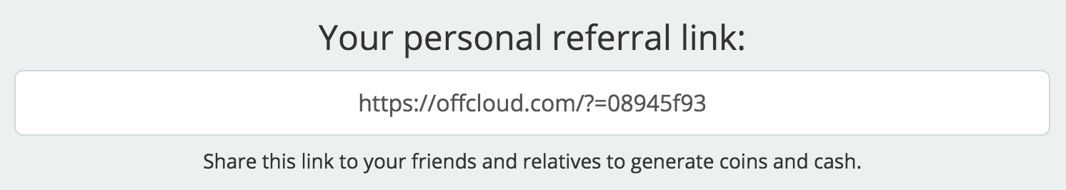 How to get a free account & earn money with Offcloud